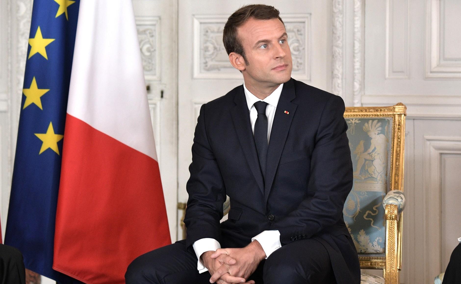 Macron flat tax projet